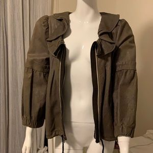 Development by Erica Davies 100% lambskin  jacket